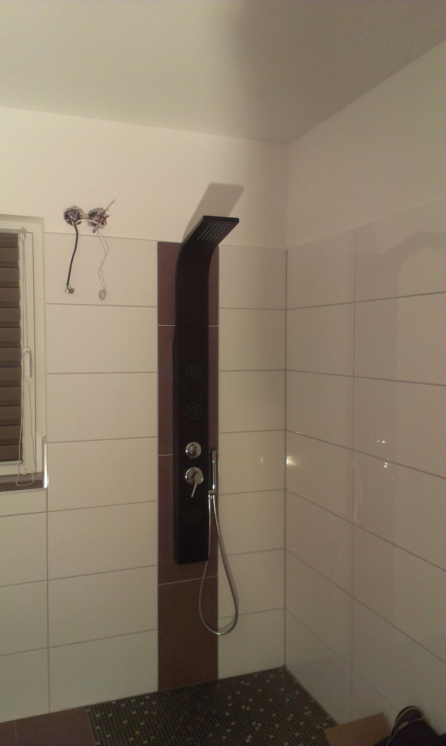 waschbecken und 2 dusche baublog. Black Bedroom Furniture Sets. Home Design Ideas